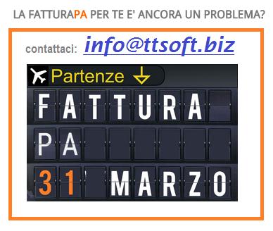 TTSoft XML Fatturazione Elettronica PA